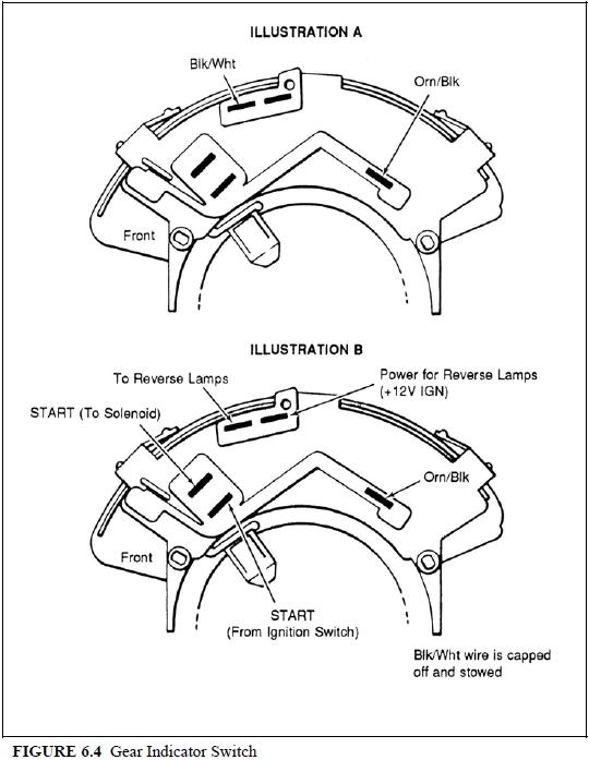 gm park neutral switch diagram