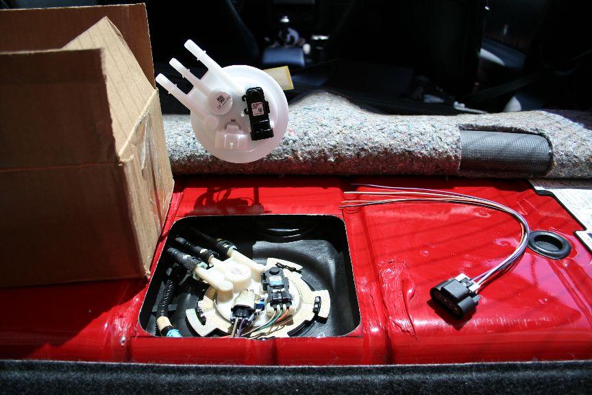 1999 Camaro SS fuel pump replacement - \