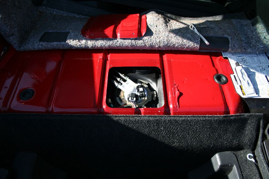 Trap door fuel pump access - where to cut? - LS1TECH - Camaro and