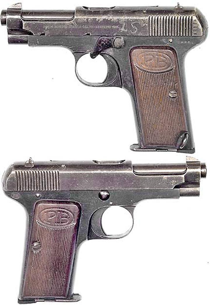 Beretta Jaguar Model 73 pistol in 22LR no oneu0027s ever accused - bill of sale for gun