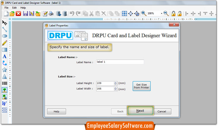 Card and Label Designing Software create Labels ID cards Stickers