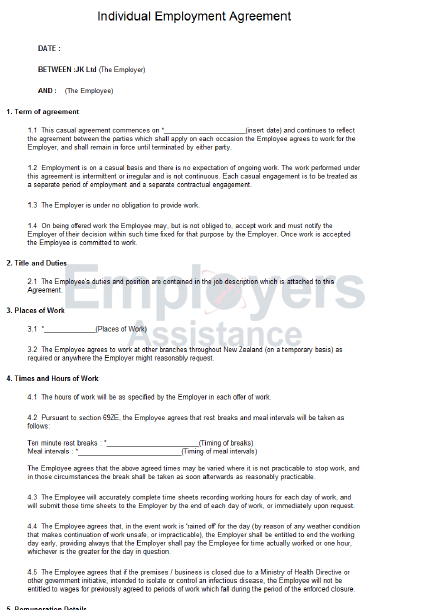 Permanent Employment Contract Template Uk Temporary Employment Contract  Rocket Lawyer Casual Employment Contract And Agreement Employers