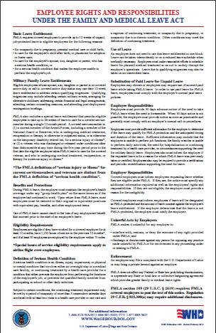 FMLA forms Employers\u0027 Lawyers Blog
