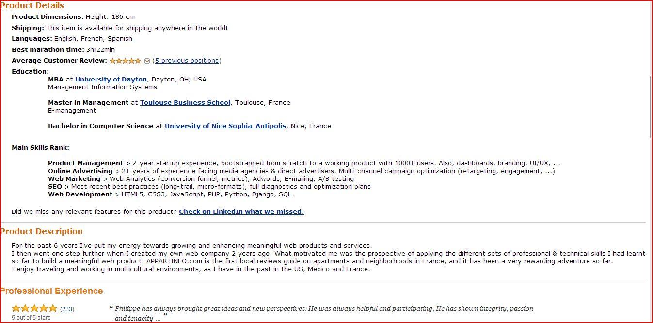 amazon resume under review