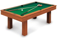 BILLIARD POOL TABLE TRANSFORMABLE CONVERTIBLE DINING TABLE ...