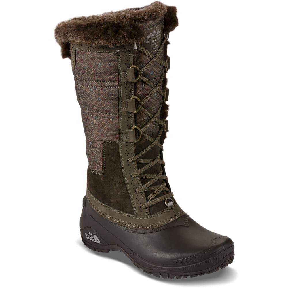 The North Face Womens Shellista Ii Tall Boots Weimaraner