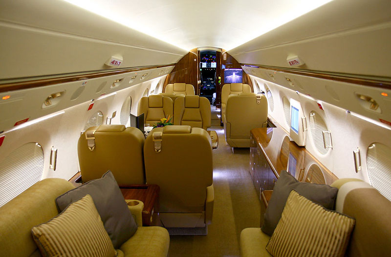 3d Wallpapers For Nokia E63 Cool Images Jet Plane Gulfstream V Interior