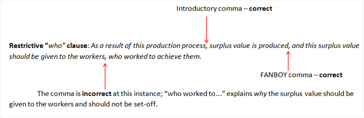 How to Effectively Use Commas in Academic Writing (Part 2) - Enago - comma and and