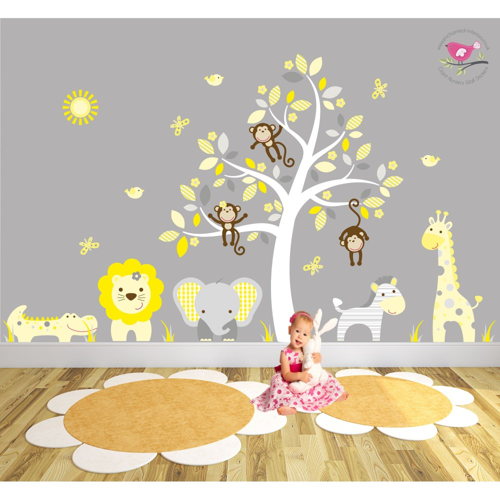 ... Wall Stickers Yellow And Grey Nursery. Download Part 60