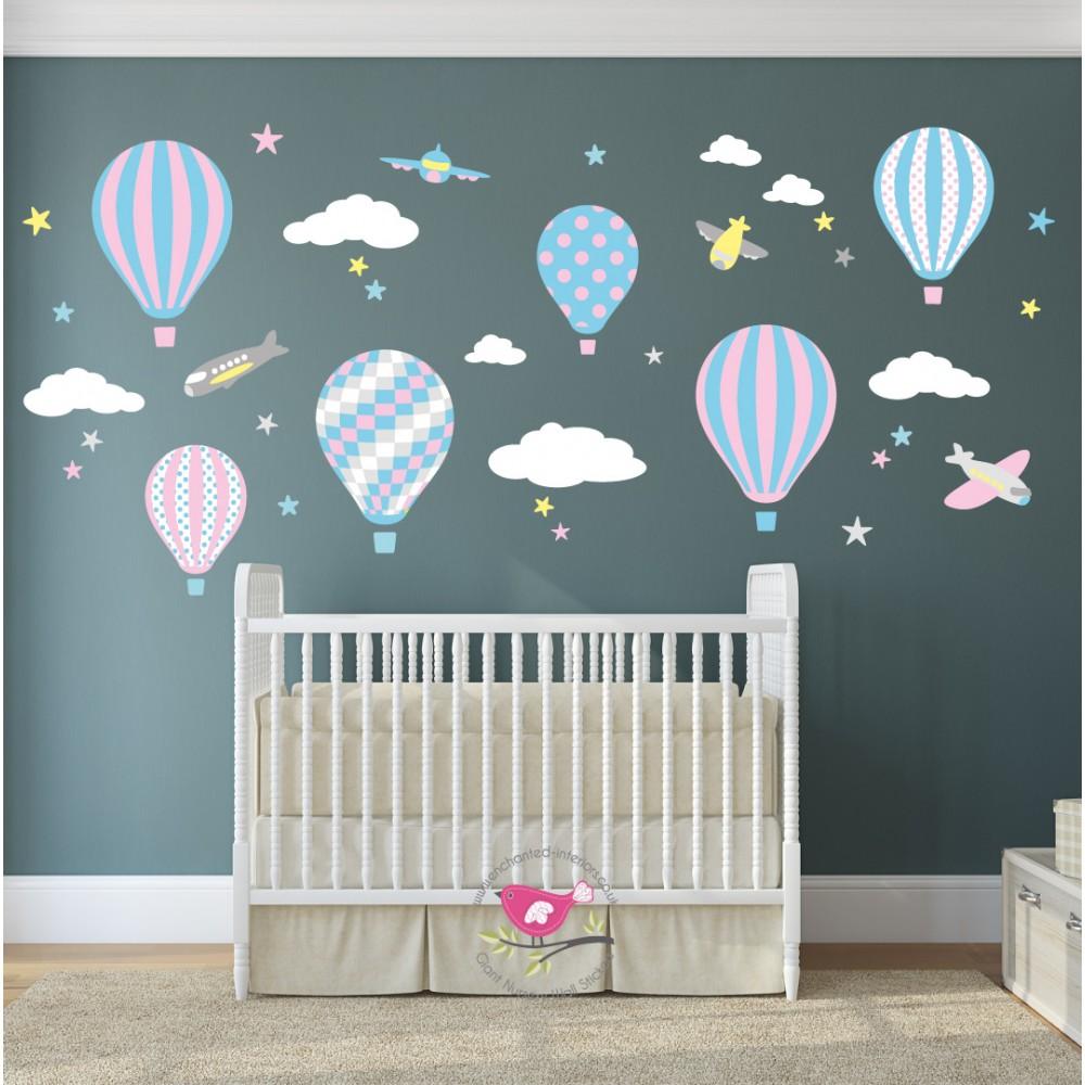 Wall Stickers Uk Baby - Nursery wall decals uk