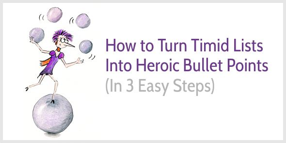 How to Write Heroic Bullet Points That Sell (With Examples)