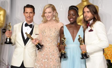 Oscars 2014: Actores premiados