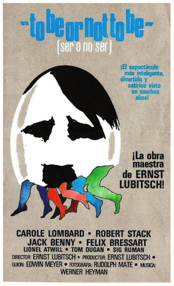 Ser o no ser (1942) de Ernst Lubitsch