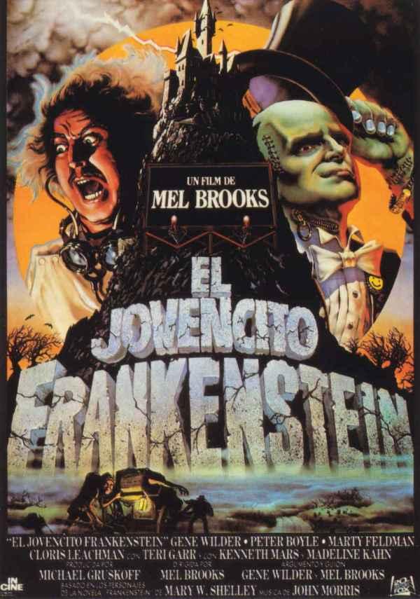 El jovencito Frankenstein (1974) de Mel Brooks
