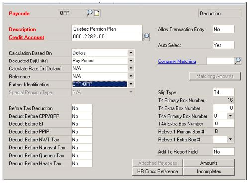 Dynamics GP How To Set Up Quebec Payroll Encore Business Solutions