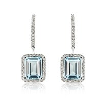 Emerald Diamond Drop Earrings | www.pixshark.com - Images ...
