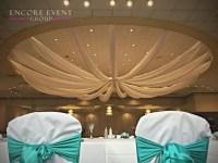 Andiamo's Warren Wedding Ceiling Draping | Encore Event Group
