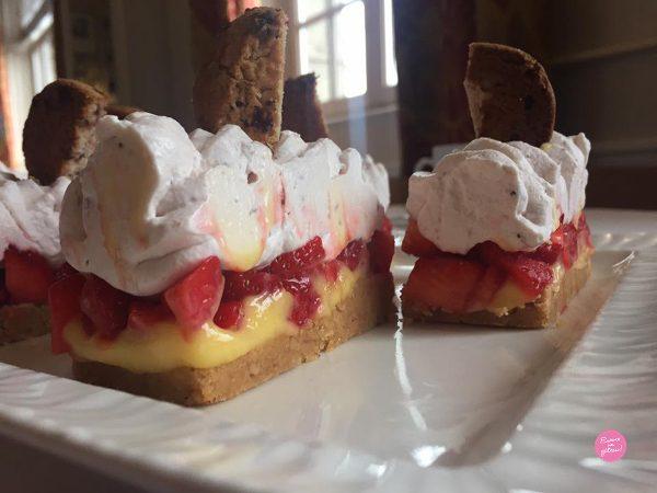 Tartelettes fraises citron La Mère Poulard