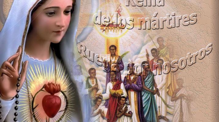 Reina de los mártires
