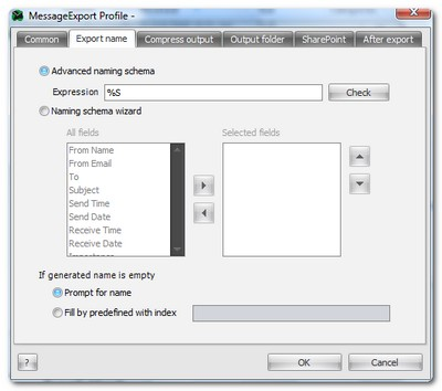 MessageExport Convert Outlook Email to PDF, TXT and more
