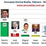 Encuesta Online Breña – Marzo 2014