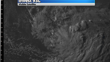 Invest 93L Looking Poor This Afternoon
