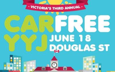 Car Free Day YYJ 2017