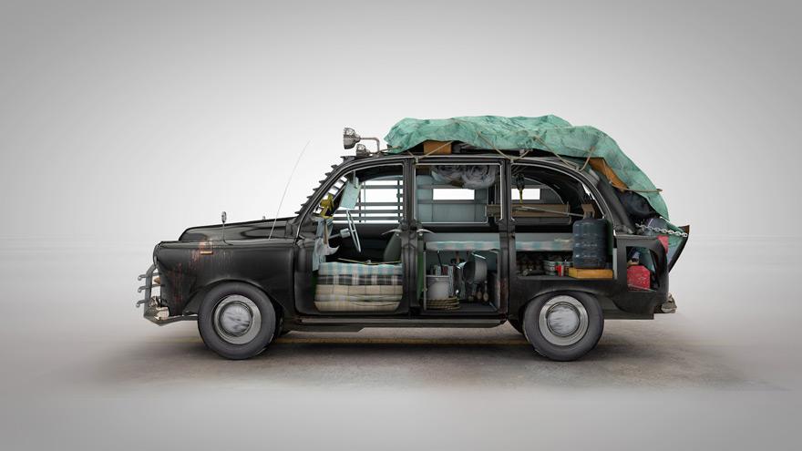 Mighty Car Mods Wallpaper Veh 237 Culos Dise 241 Ados Para Sobrevivir A Un Ataque Zombi El
