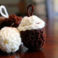 Crochet Acorn Pattern