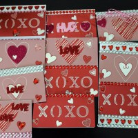 DIY Foil Valentine's Day Cards