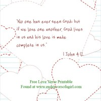 *Free Printable* Valentine's Day Bible Verses