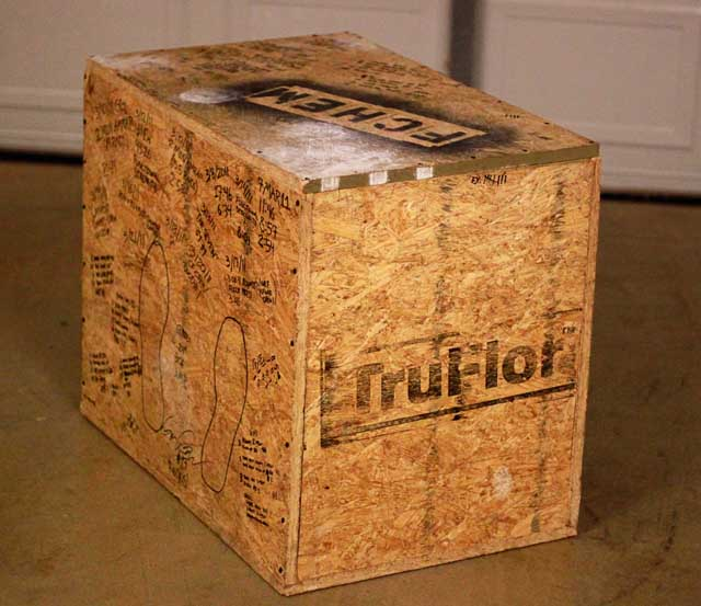 how to make plyo boxes 1