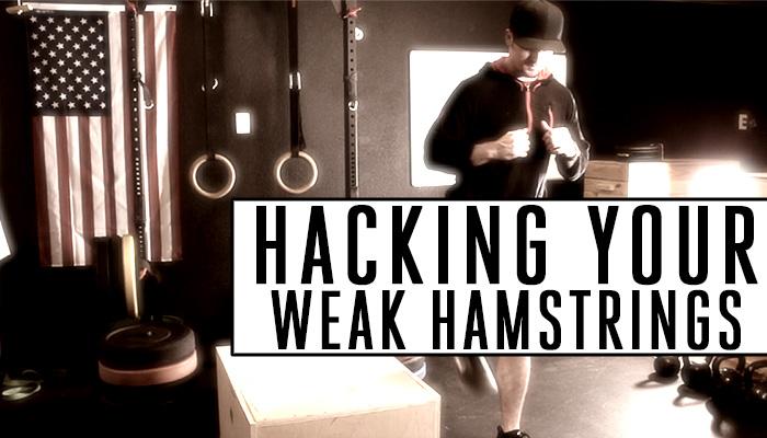Hacking your weak hamstrings