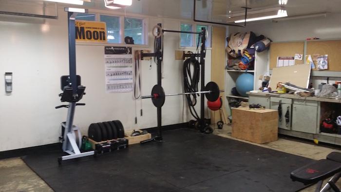 Rich froning garage gym
