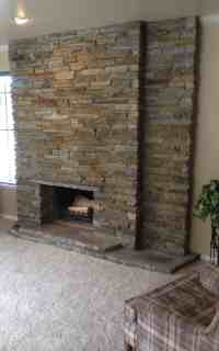 Stone Fireplace Re-Face - ENDURANCE Stone