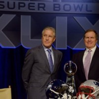 Super Bowl XLIX: New England Patriots@Seattle Seahawks