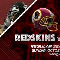Washington Redskins @ Atlanta Falcons preview