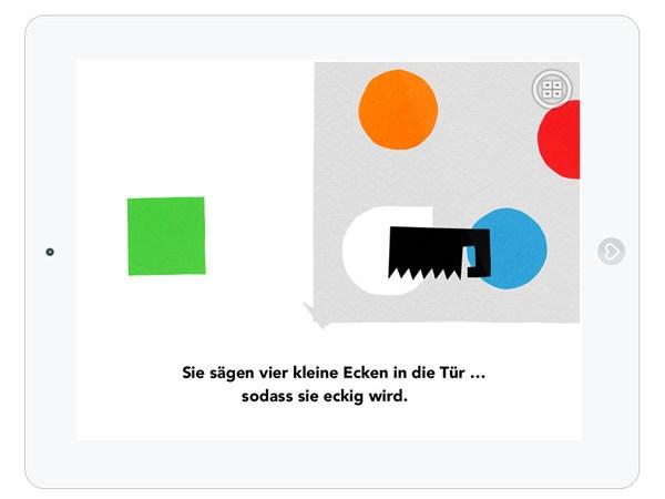 eine kinder app mit farben formen und freundschaft die. Black Bedroom Furniture Sets. Home Design Ideas