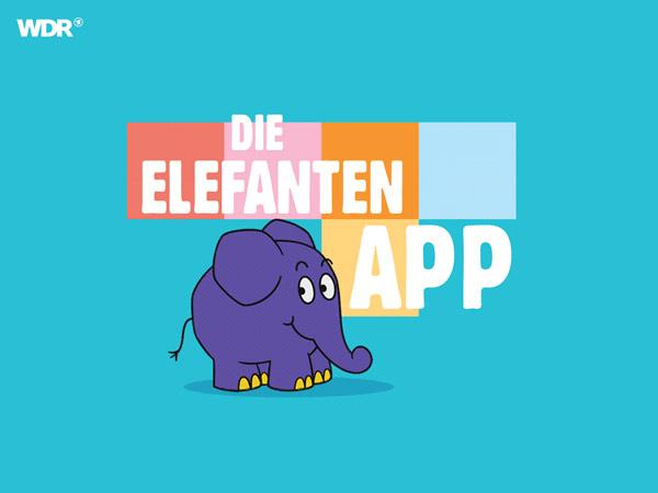 Der Elefant: die kostenlose App mit dem kleinen, blauen Freund der Maus