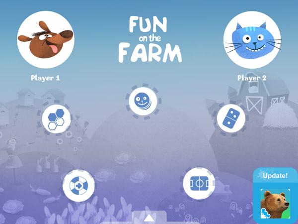 Spaß auf dem Bauernhof: der digitale Spieleabend für Kinder