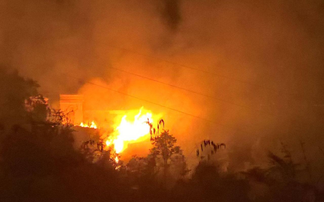 Allarme incendi non solo per la natura ma anche per la salute