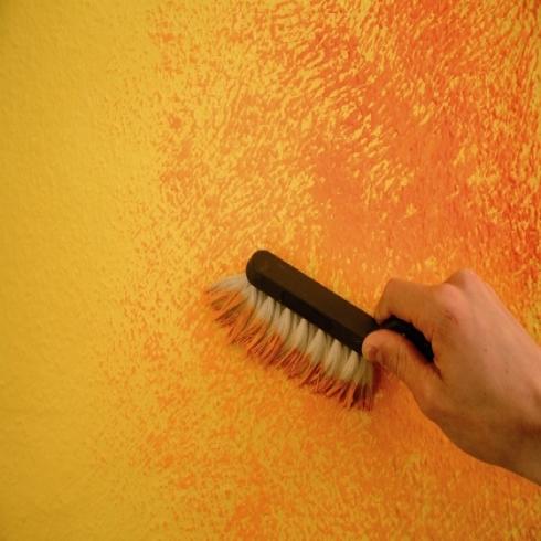 stunning wandgestaltung wohnzimmer gelb ideas - ghostwire.us ...