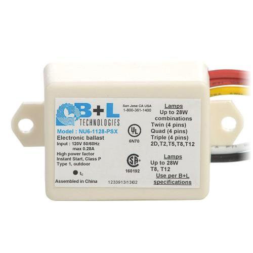 B+L Technologies 47152 NU61128PSX Mini Fluorescent Ballast Instant