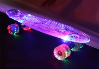 Ancheer Mini-Cruiser-Skateboard 55cm Skateboard mit oder ...
