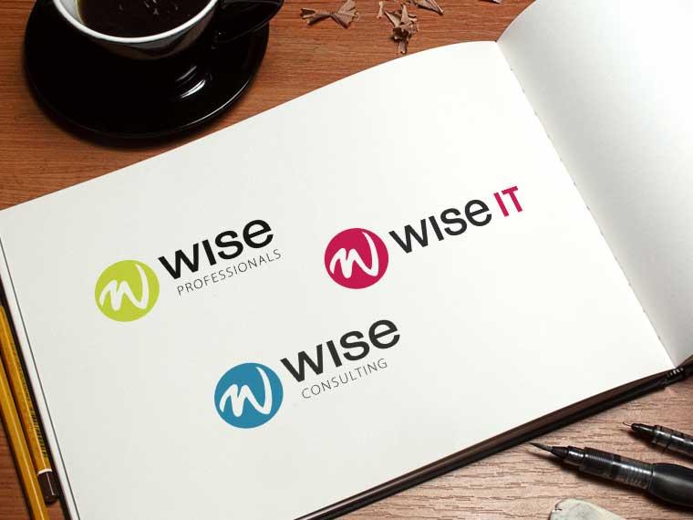 Nya logotyper för Wise