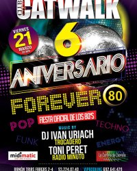 Forever 80 Catwalk Flyer