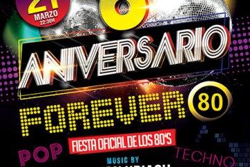 Forever 80 Catwalk Flyer