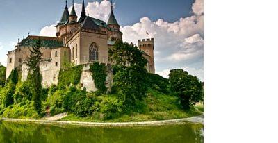 voyage-famille-enfant-château-de-Bojnice-Slovaquie-conseil