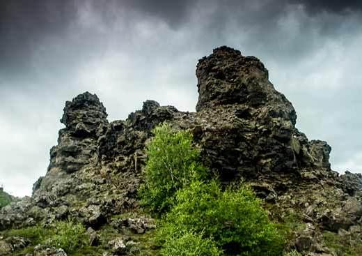 champ-de-lave-Dimmuborgir-islande