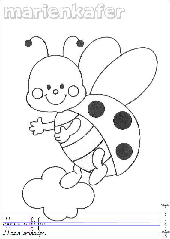 coloriage coccinelle insectes auto electrical wiring diagramcoloriage coccinelle insectes
